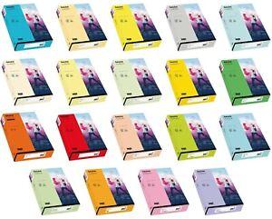 Rainbow Kopierpapier Papier Druckerpapier farbig bunt A4 120g Kopierkarton Farbe
