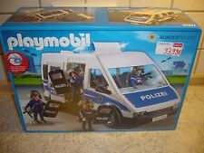 Playmobil 9397 Bundespolizei - Mannschaftswagen  City Action Neu Polizei