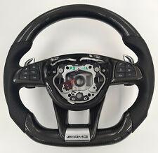 Mercedes Benz AMG lenkrad Carbon veredelt C63 C63s e63 GT S63 W205 W222 W213 gl