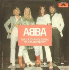 """Abba(7"""" Vinyl P/S)Take A Chance On Me / I'm A Marionette-Polydor-2001 7-Ex-/Ex-"""
