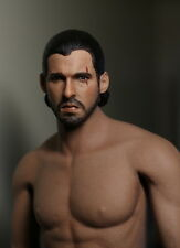 "Custom 1:6 Jon Snow Head Sculpt Game of Thrones Fit 12"" Male Phicen Body Figure"