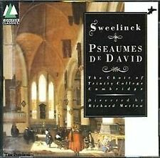 Sweelinck Pseaumes De David Trinity College Choir Cambridge Richard Marlow