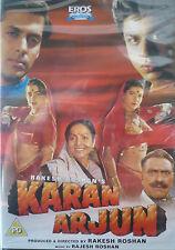 KARAN ARJUN - BOLLYWOOD DVD - Eros -Shahrukh Khan, Salman Khan, Mamta Kulkarni,