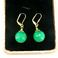 BAILYSBEADS edle Smaragd Ohrringe Ohrhänger earrings Tropfen neu h7x3
