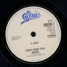 """Eight Point Five(7"""" Vinyl)Mary/ I Can't Get You Out Of My Head-Epic-650-VG/NM"""