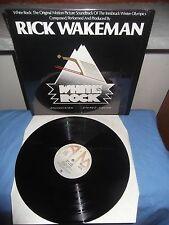 "Rick Wakeman ""White Rock"" LP A&M ITA 1977 OST"