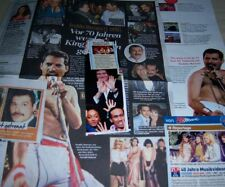 Queen Freddie Mercury German Clippings Collection Full Pages
