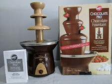 "Wilton ""Chocolate Pro"" Chocolate Fountain Extra Large 4-Pound Capacity 3 Tiers"