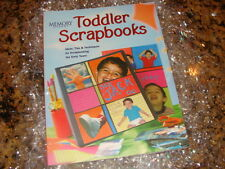 """Memory Makers"" New! Toddler Scrapbooks Instruction Book - Ideas!"