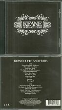 CD - KEANE : HOPES AND FEARS ( UNIQUEMENT CD1 / ONLY CD1, CD2 MISSING )