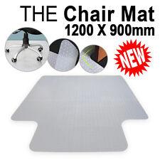 1200 x 900mm PVC Carpet Floor Home Office Computer Work Chair Mat Vinyl Plastic