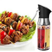 Ölsprüher Flasche Oil Sprayer Glas Öl Essig Spender Flasche Küche Öl Sprüher
