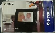 """NEW NIB Sony DPF-D95 9"""" Digital Picture Photo Frame LED S-Frame Remote Control"""