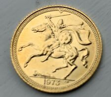 1973 Isle Of Man 1/2 Sovereign