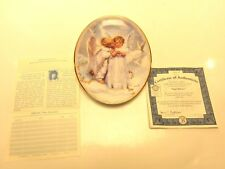 Angel Kisses Plate by Sandra Kuck On Angel's Wings Collection COA BB2A-218