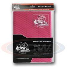 Monster Album Binder 9 Pocket Holofoil Pink With 20 Sideloading Pages