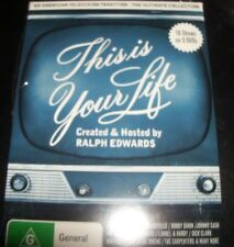 This Is Your Life Ultimate Collection Ralph Edwards (Aust All Reg) 3 DVD NEW