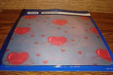 """LIVE LAUGH LOVE HEART image design Mouse Pad  8"""" x 8.5""""  Soft Cloth Surface  NEW"""