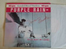 """DENICE BROOKS - Purple Rain / Do ya want my Love 12"""" Maxi Polydor 1984"""