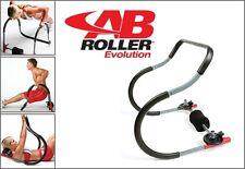ATTREZZO GINNICO AB Roller Evolution x ADDOMINALI SUPERIORI e INFERIORI Con DVD