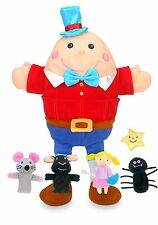 Fiesta Crafts Nursery Rhyme Hand and Finger Puppet Set T-2735