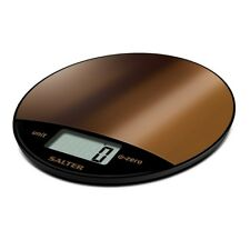 Salter 8kg Metalic Copper Electronic Digital Kitchen Scale Copper 1059 CPDR NEW