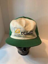 K Product Cooper Industries Demco Snapback Cap Vintage