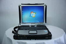 Panasonic Toughbook CF-19 MK3 Core Duo 2 Go 250 Go, Windows 7 sans batterie sans stylet