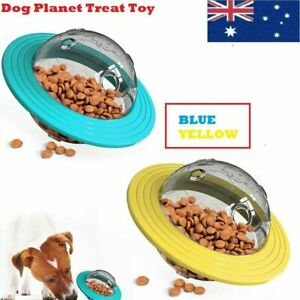 Dog Planet Treat Toy Tumbler Puzzle Interactive Leak Pet Slow Feeder Food Toy