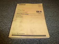Caterpillar Cat 966G Wheel Loader Skid Steer w/ 3306 Engine Part Catalog Manual