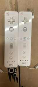 X2 Officials Nintendo Wii Remote Motion Controllers...