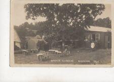 Bungalow Tea Gardens Maidencombe Devon 1923 RP Postcard 577b