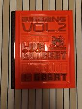 BIGBANG Vol.2 Second Live Concert Big Bang Is Great DVD + book set