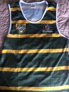 Australia Rugby League Vest Polyester Xxl Plus Nrl Snood