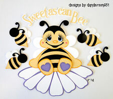 Bee Die Cuts Kids Paper Piecing  PreMade 4 Border Scrapbook Album danderson651