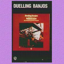 """COLONNA SONORA """" DUELLING BANJOS DELIVERANCE"""" MUSICASSETTA NUOVA 1973  ITALY WEA"""
