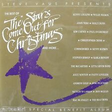 Best of Stars Come Out For Christmas CD Vaus 1992 Country Rock & Pop 24trks v/a