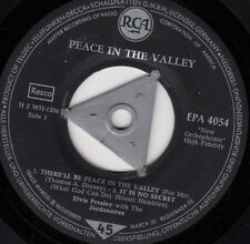 ELVIS PRESLEY THERE'LL BE PEACE IN THE WALLEY 1959 RARE RECORD GERMANY 7""