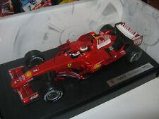"""1:18 Ferrari F2008 K. Raikkonen 2008 Umbau rebuilt """"BARCODE"""" in showcase new"""