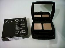 Avon True Color Eyeshadow Duo WARM CASHMERE *NEW* Full Size Free Shipping