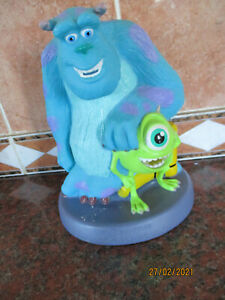 Disney Pixar Monsters Inc Sully & Mike Money Box