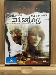 Missing - Jack Lemmon Sissy Spacek DVD - 1982 VGC - Region 4 RARE
