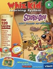 VTECH Whiz Kid Learning System, Scooby-Doo! Lost Island Adventure, Grade K NEW