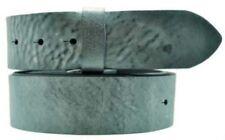Cinturones de mujer de color principal azul de piel