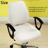 Home Office Rotating Desk Chair Swivel Chair Protector Computer Chair Cover