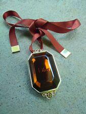 Golden Dior Bronze Luminizing Makeup Jewel Necklace