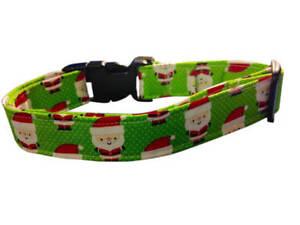 SPIFFY POOCHES Dog Collar Christmas SANTA CLAUS ~B.O.G.O @ 50% OFF C DESCRIPTION