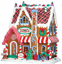Lemax Decoration Gingerbread House, Christmas Decorating,Porcelain Lighted Model