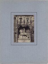Séraphin-Médéric Mieusement Castle of Blois Vintage albumin ca 1870