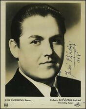 Jussi BJÖRLING (Opera): Signed Photograph